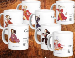 Henry VIII and Six Wives mugs
