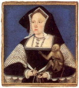 Catherine_of_Aragon_with_a_monkey_Horenbout