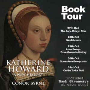 Conor Byrne book tour