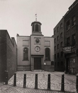 © Margaret Bell  Holy Trinity Church in 1913. It had replaced what was left of the original abbey church destroyed by fire in 1796. It was here, eleven feet below ground level, that Anne Mowbray's coffin was found during demolition in 1964.