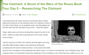 The_Claimant_A_Novel_of_the_Wars_of_the_Roses_Book_Tour_Day_5_-_Researching_The_Claimant_-_The_Tudor_Society_-_2015-02-13_10.39.48