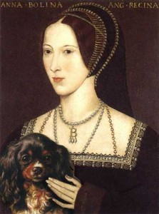 A mock-up of Anne Boleyn and Purkoy
