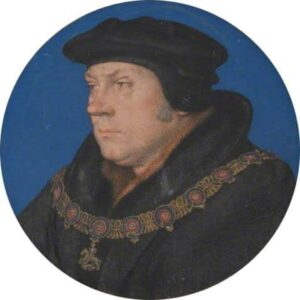 Fig. 4: Thomas Cromwell, wearing the Garter collar c. 1537