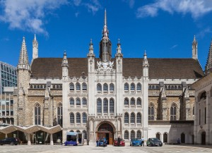 London's Guildhall as it looks today