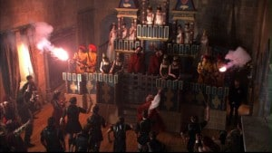 "The pageant in Showtime's ""The Tudors"""