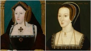 Catherine of Aragon and Anne Boleyn