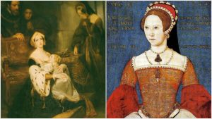 Anne Boleyn and Mary