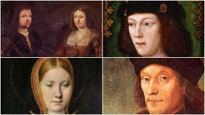 Catherine and Henry and Isabel and Henry