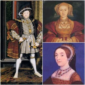 Henry VIII Anne of Cleves Catherine Howard