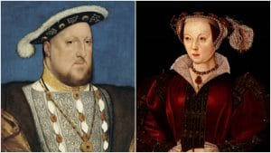 Henry VIII and Catherine Parr