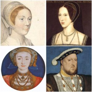 Henry VIII and 3 wives