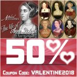 50% off my Anne Boleyn course and other online history courses